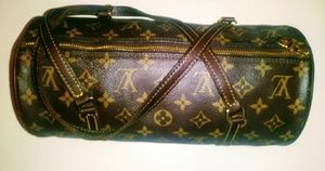 Louis Vuitton monogram papillon handbag